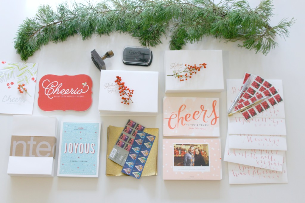 Personalized Holiday Cards with Minted - tiffany davis olson